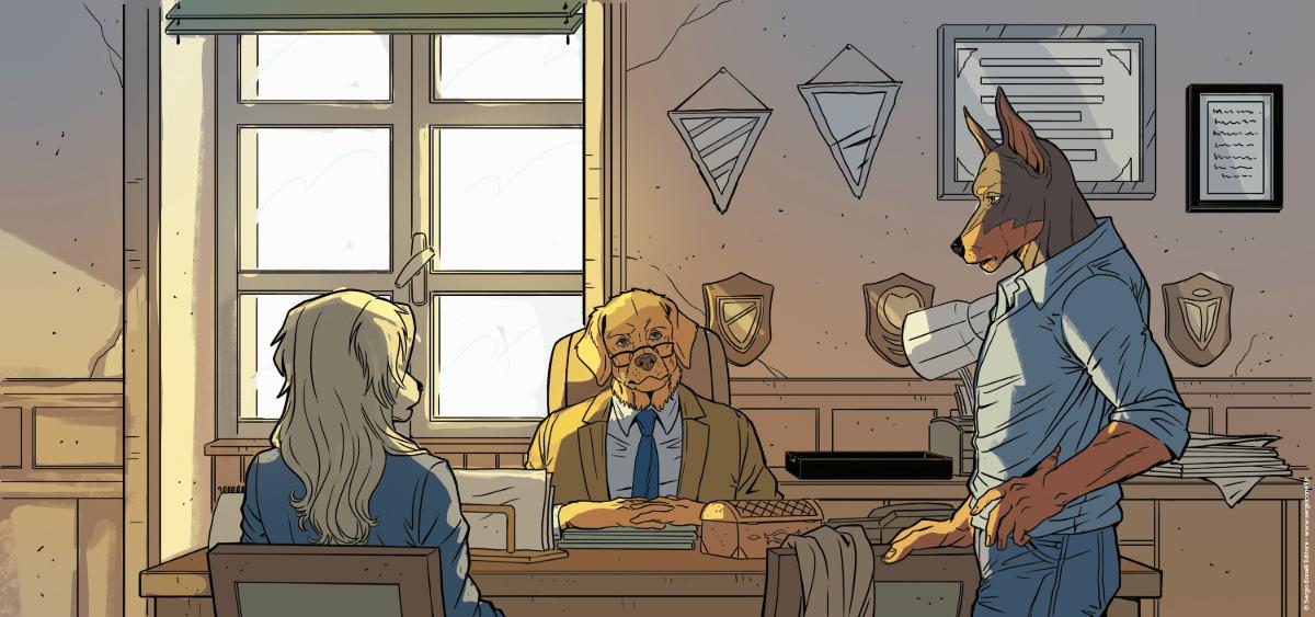 I Bastardi di Pizzofalcone: il romanzo diventa un fumetto thumbnail