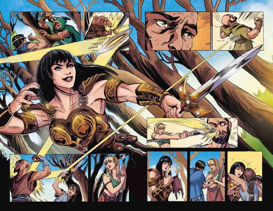 Nuova serie a fumetti per Xena thumbnail
