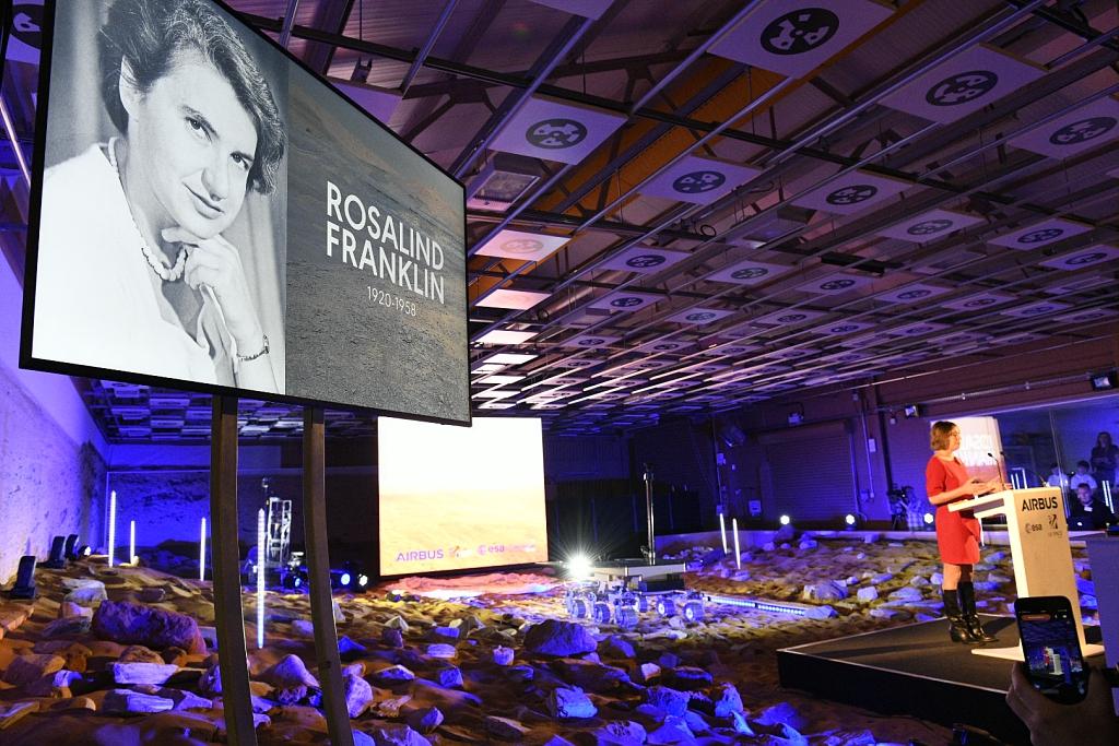 Rosalind Franklin andrà su Marte thumbnail