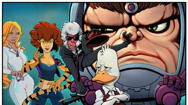 In arrivo su Hulu 4 nuove serie animate Marvel thumbnail