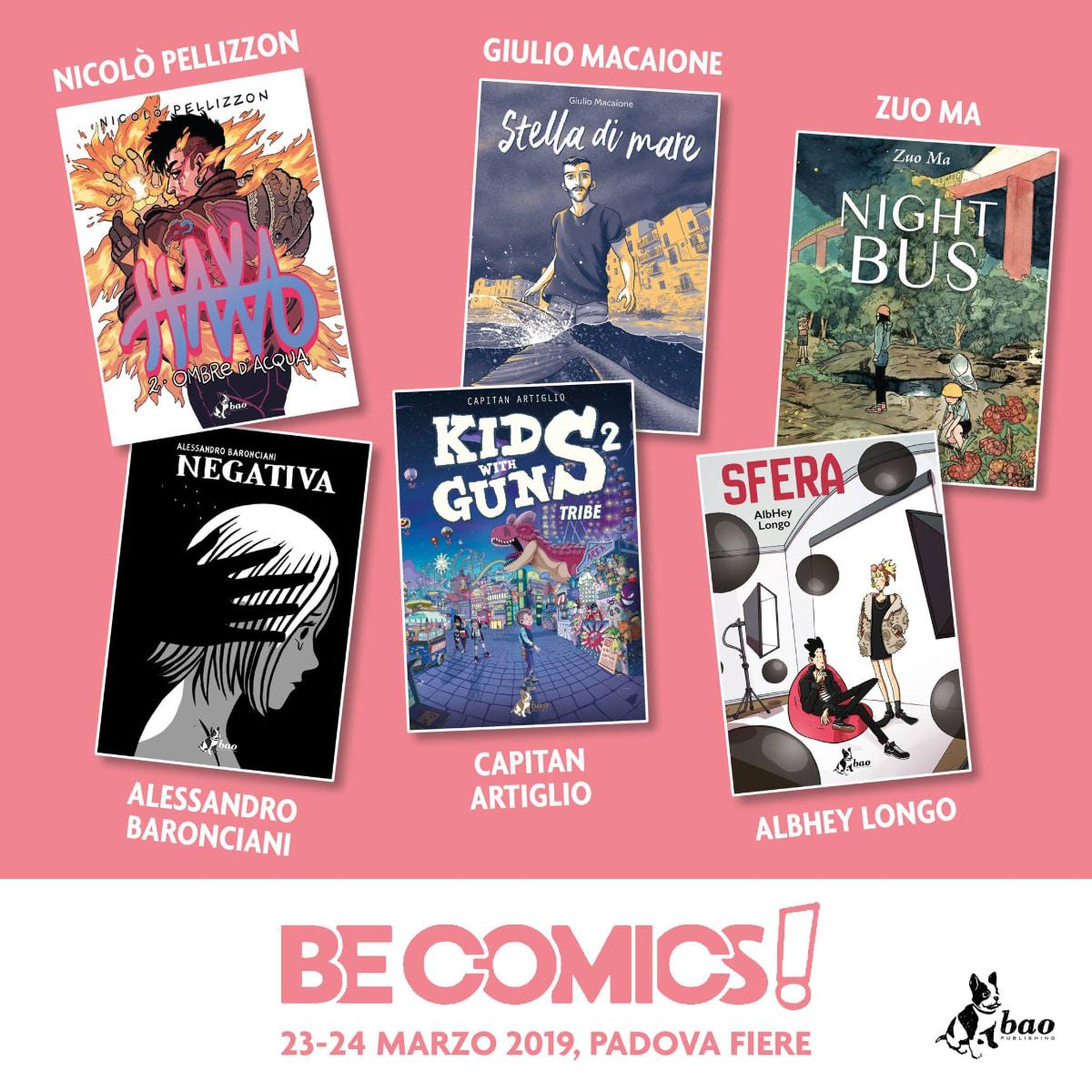 be comics 2019 bao publishing ospiti