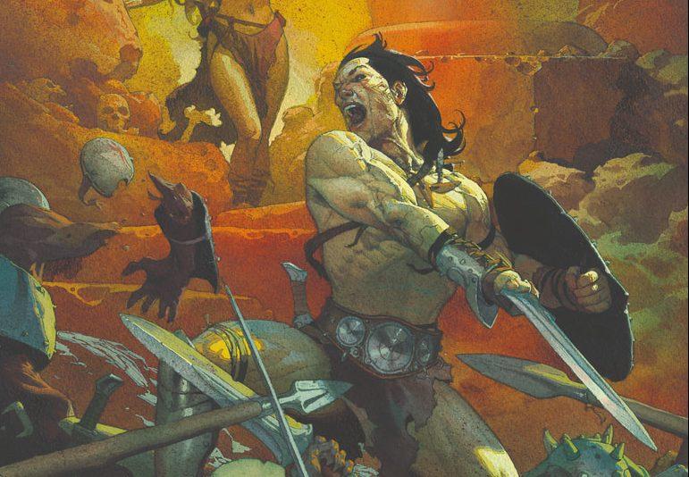 Panini Comics presenta il nuovo Conan il Barbaro a Cartoomics 2019 thumbnail