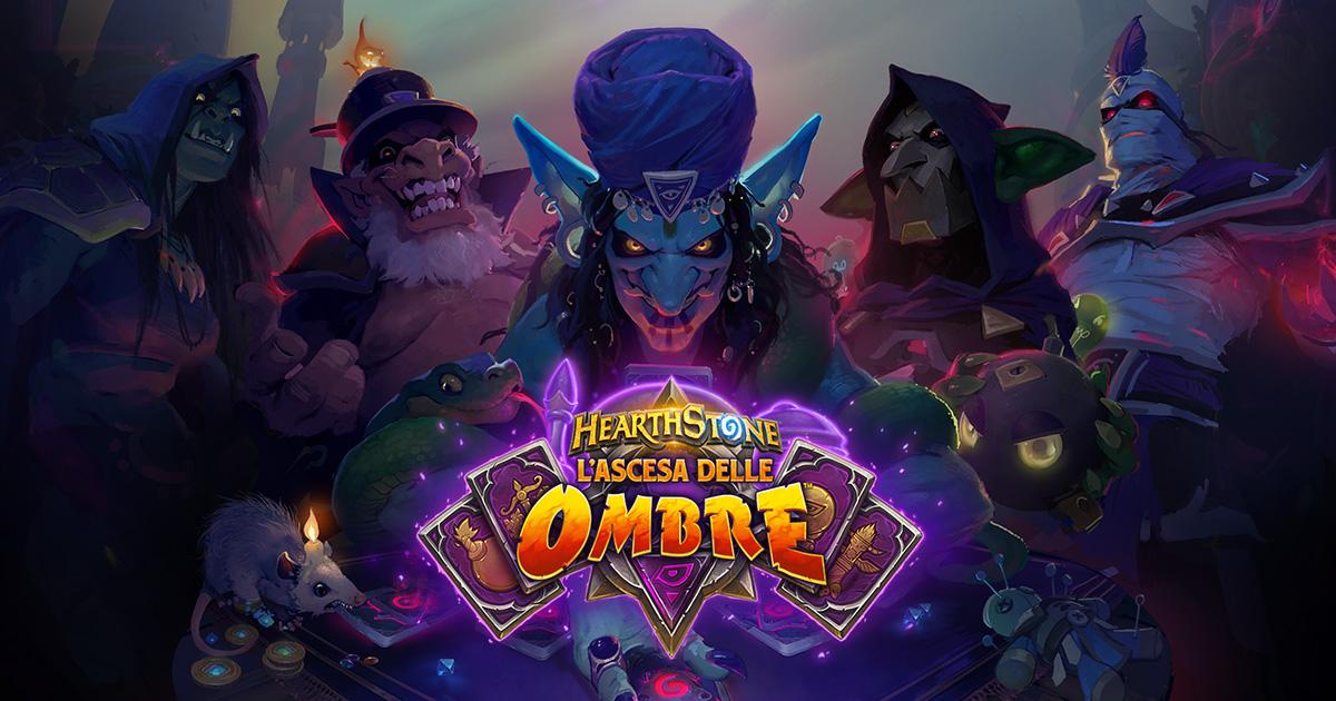 """Hearthstone, """"L'ascesa delle Ombre"""" è la nuova espansione thumbnail"""