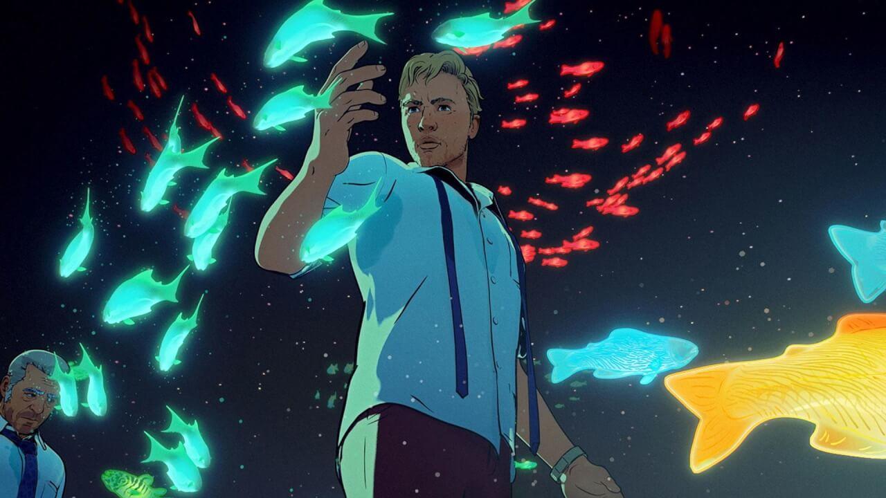 ove, death robots netflix serie animata fantascienza notte pesci