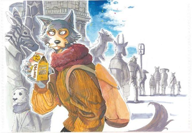 Beastars, arriva il primo volume del manga di Paru Itagaki thumbnail