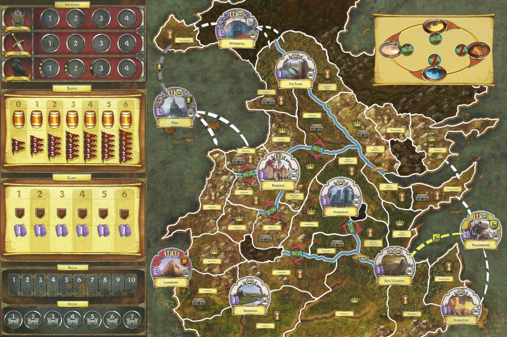 Top 5: i giochi da tavolo di Game of Thrones | GoTWeek thumbnail