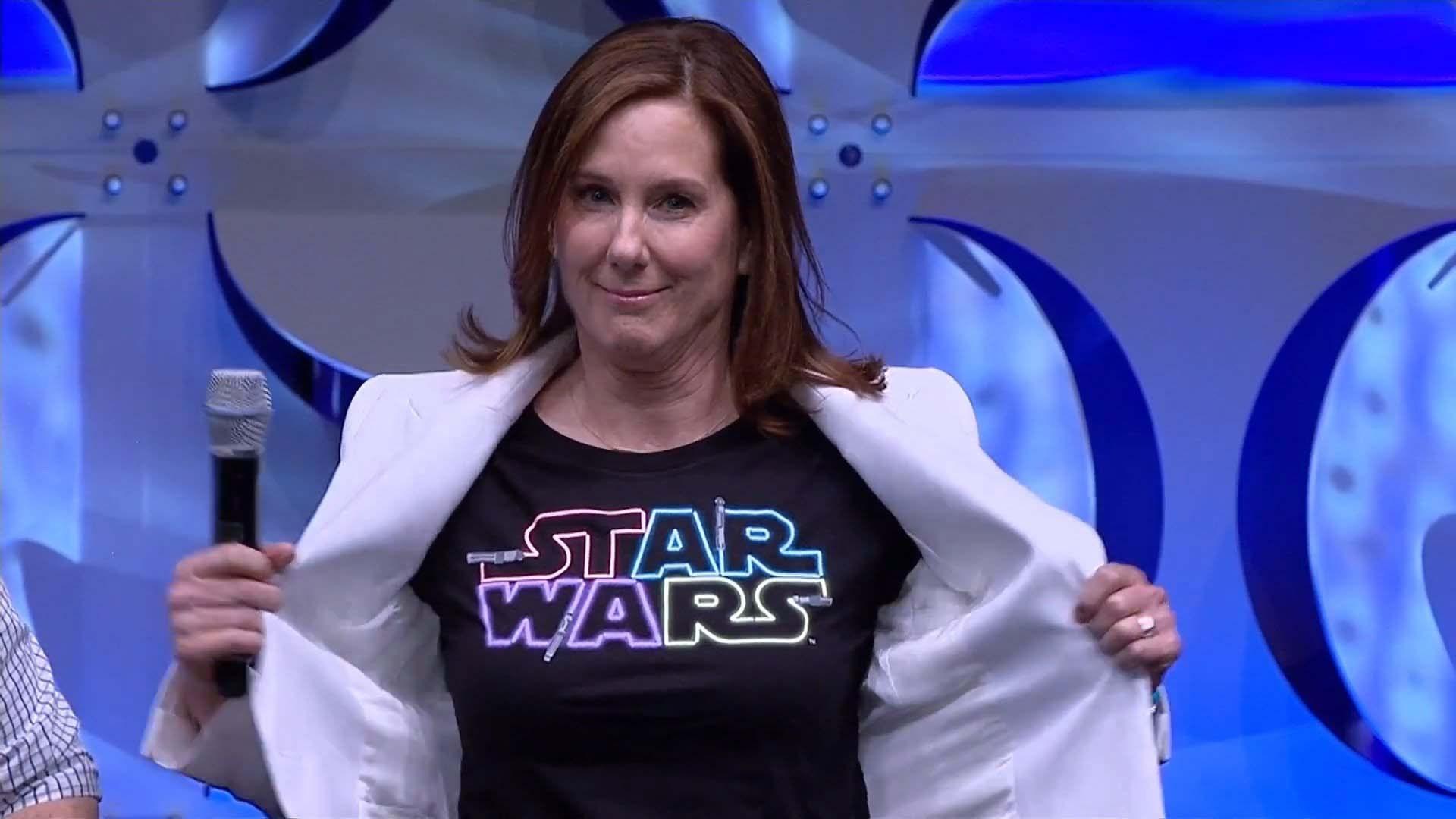 Kathleen Kennedy promette una regista donna per i prossimi Star Wars thumbnail