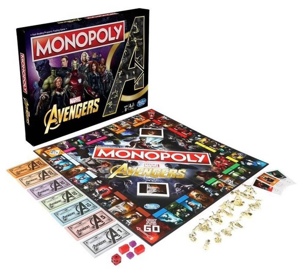 Monopoly: Marvel Avengers Edition presentato ufficialmente thumbnail