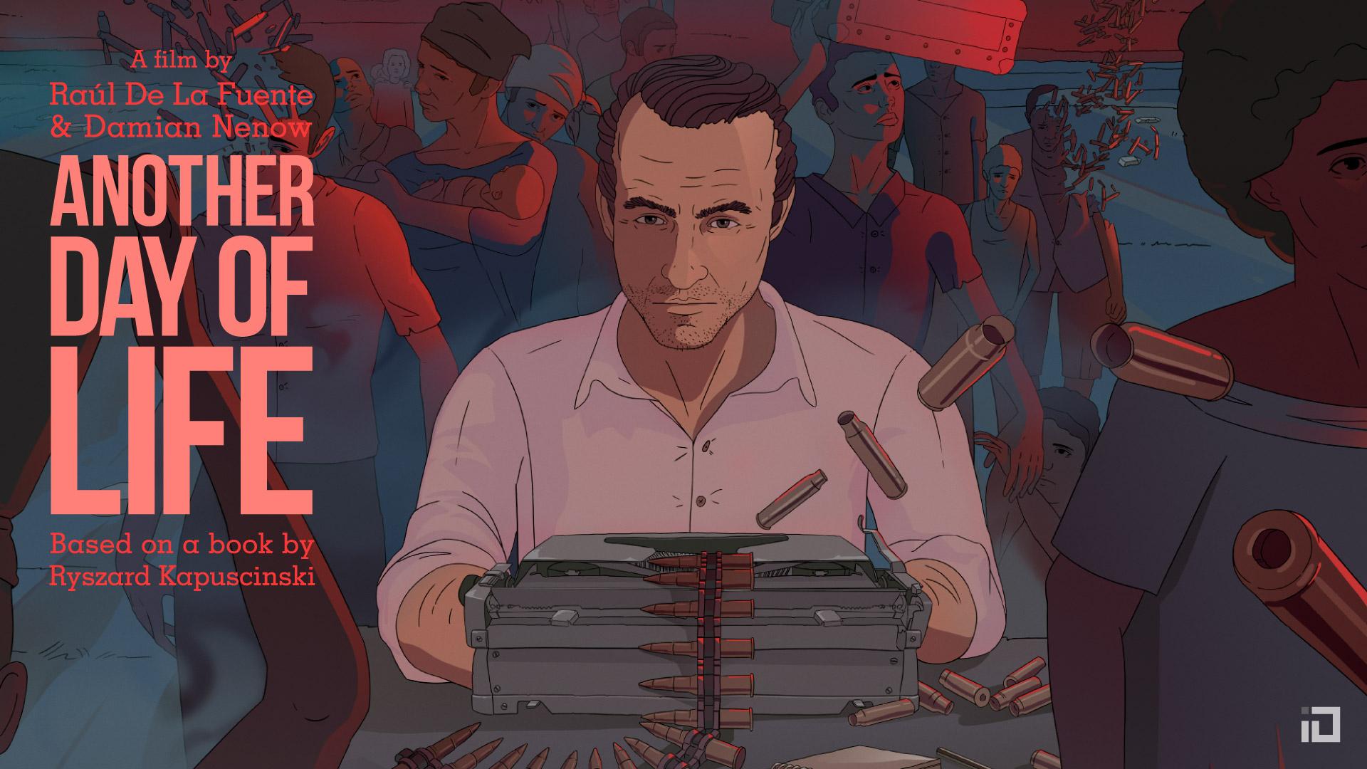 Ancora un giorno, il film d'animazione sull'eccezionale reportage di Kapuscinsky thumbnail