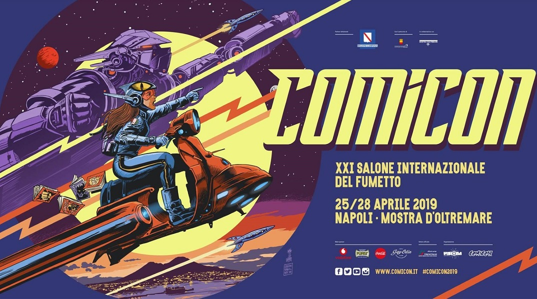Tutti i vincitori dei premi di Napoli Comicon 2019 thumbnail