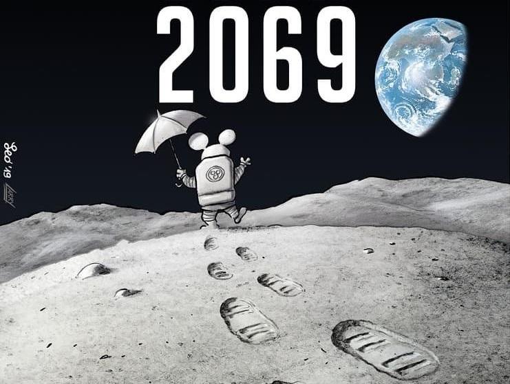 Luna 2069, il fumetto di Leo Ortolani in viaggio verso la ISS thumbnail