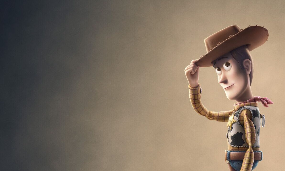 toy story 4 anteprima poster woody