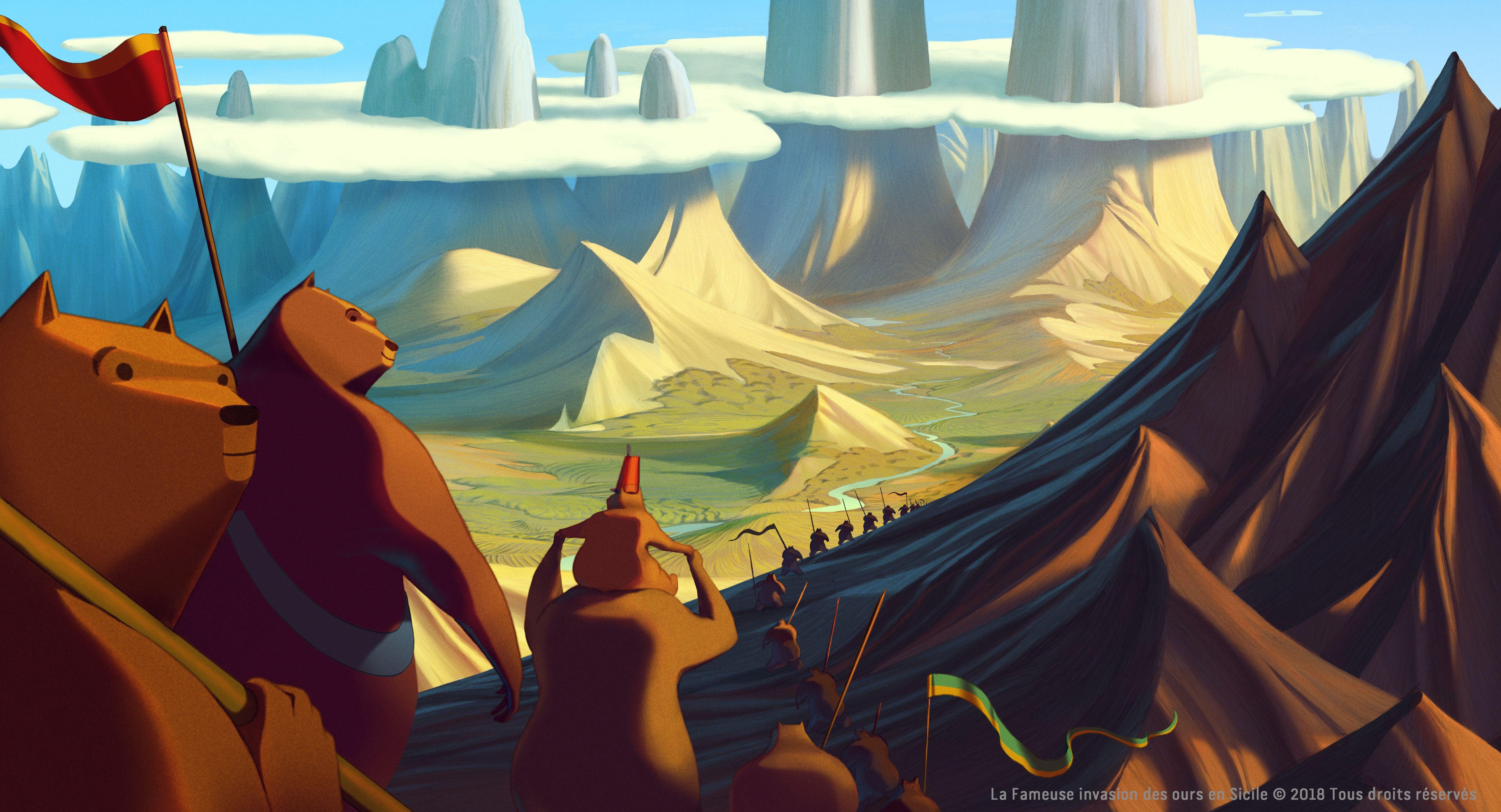 La famosa invasione degli orsi in Sicilia presentato in anteprima a Cannes thumbnail
