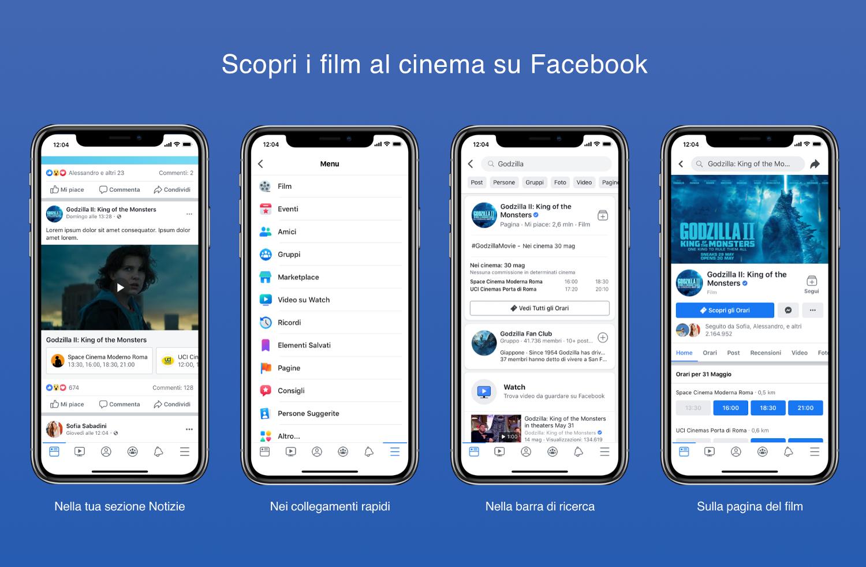 Facebook Film arriva anche in Italia thumbnail