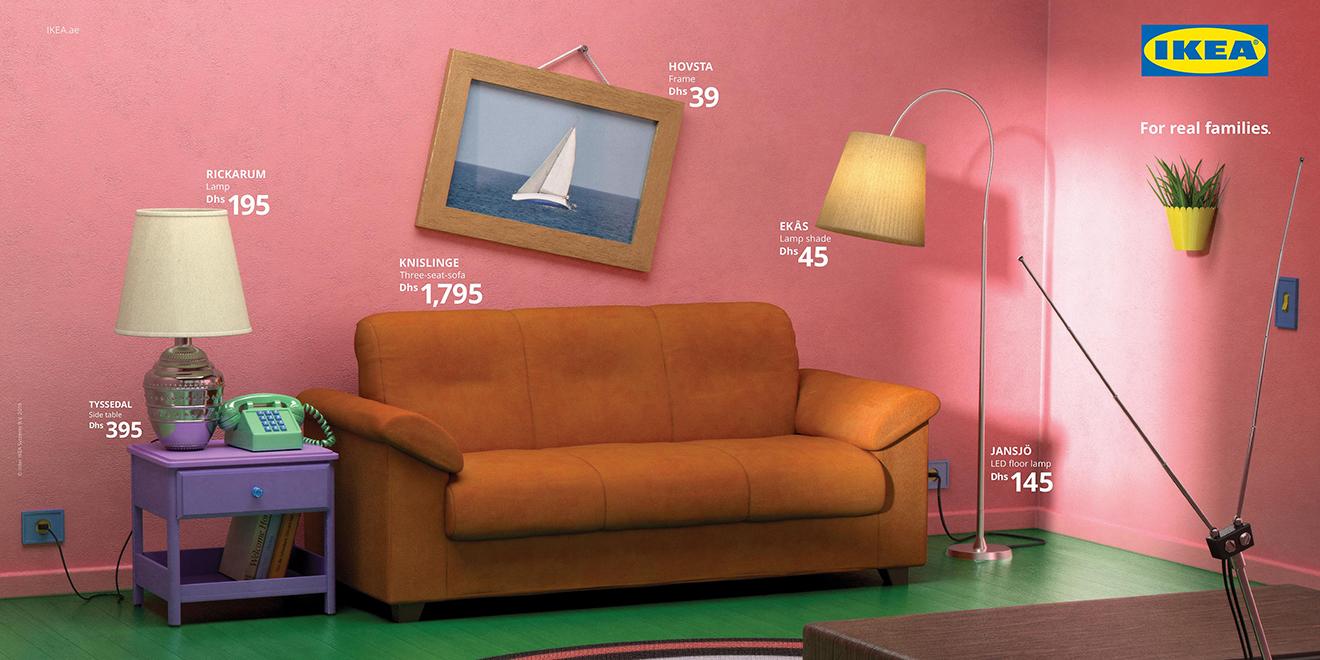 Ikea ricrea tre salotti cult della televisione thumbnail