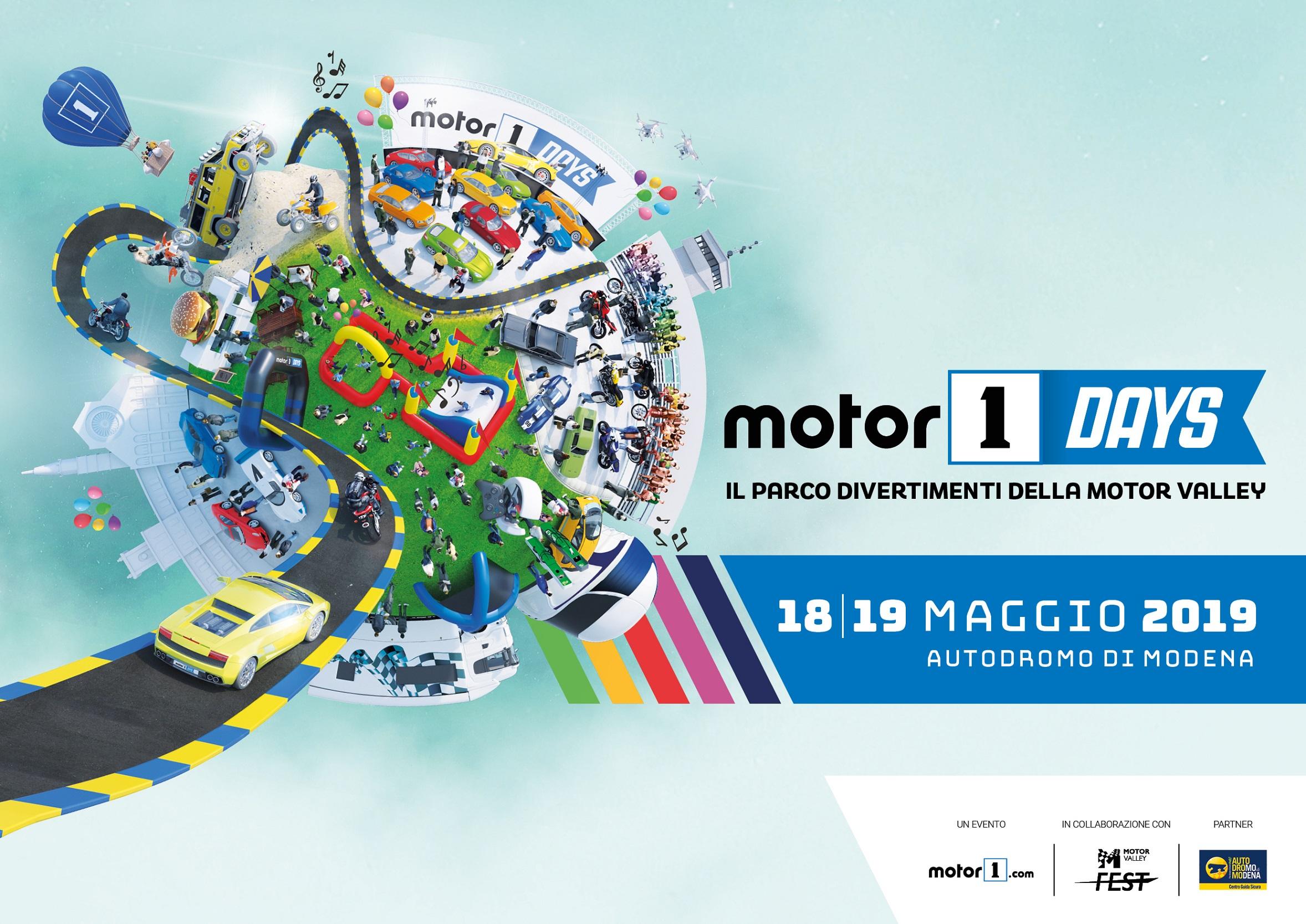 Motor1Days sabato e domenica a Modena thumbnail