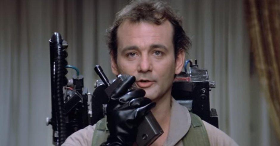 peter venkman bill murray ghostbusters 3 reboot