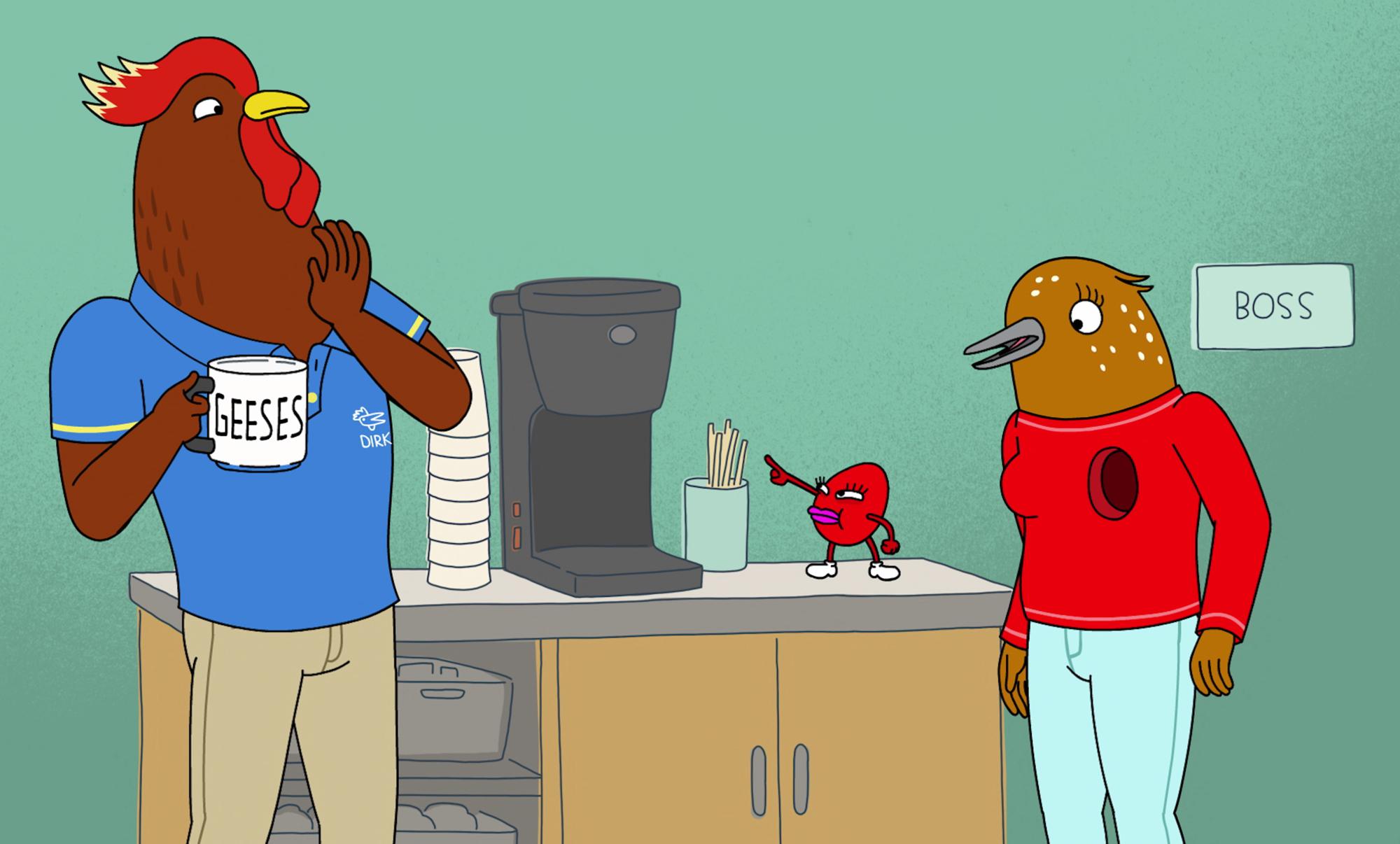Recensione Tuca & Bertie, l'esuberante storia di una grande amicizia thumbnail
