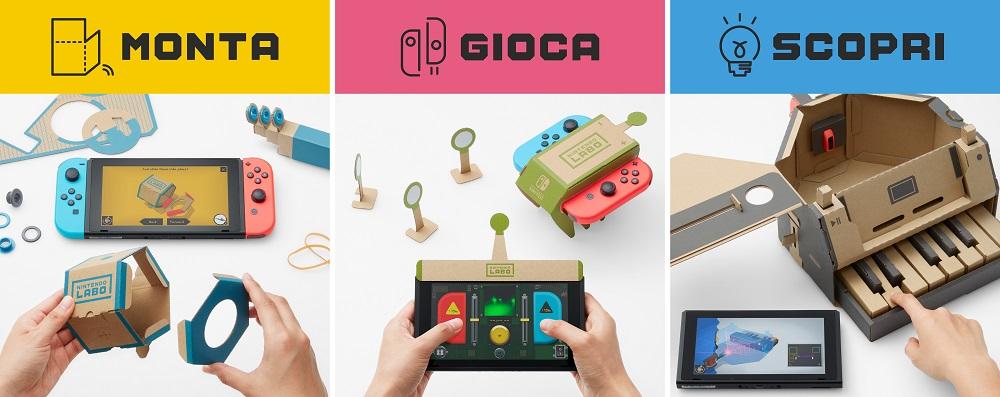 Nintendo Labo a scuola: arrivano le Olimpiadi Creative thumbnail