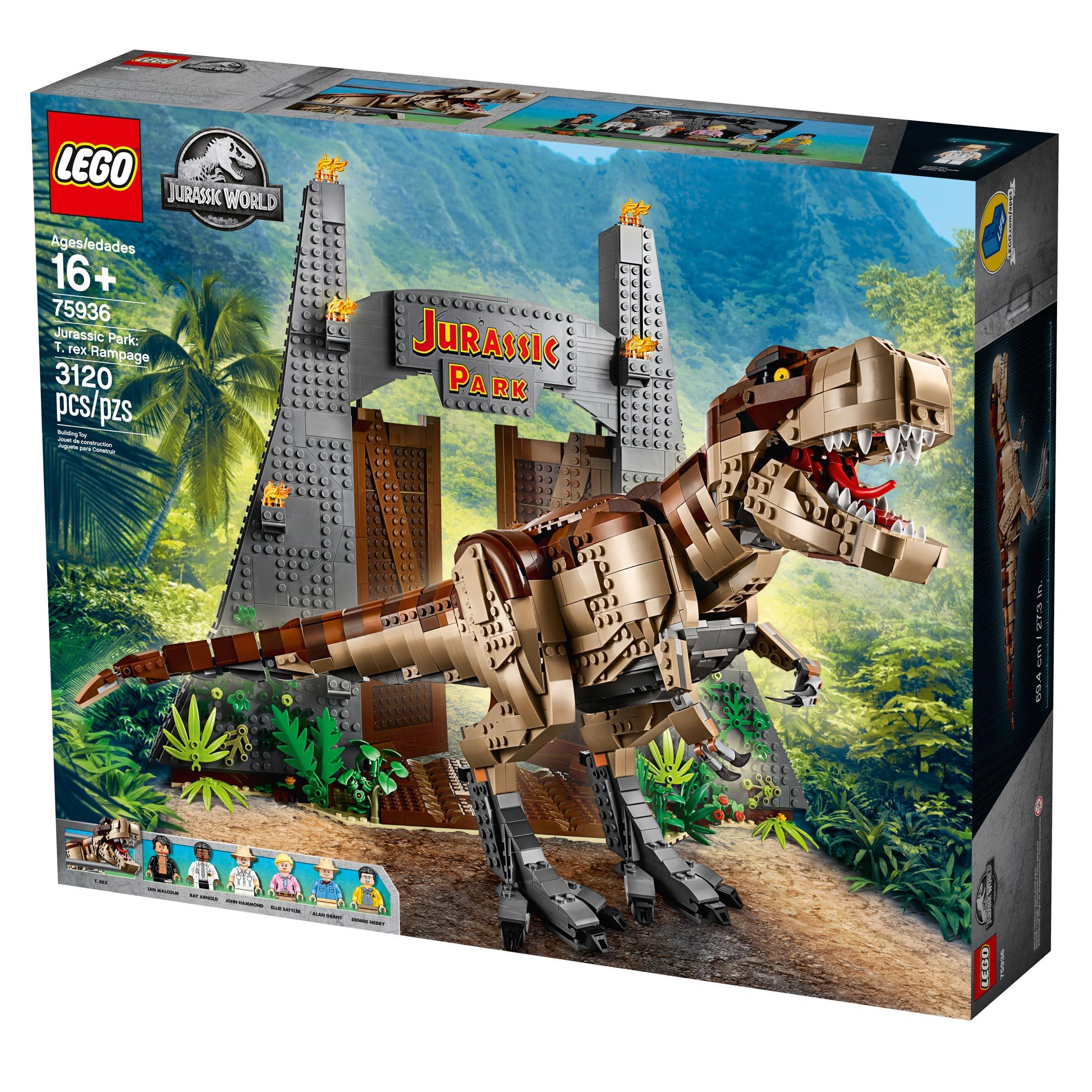 Nuovo set Lego Jurassic Park: La furia del T-Rex thumbnail