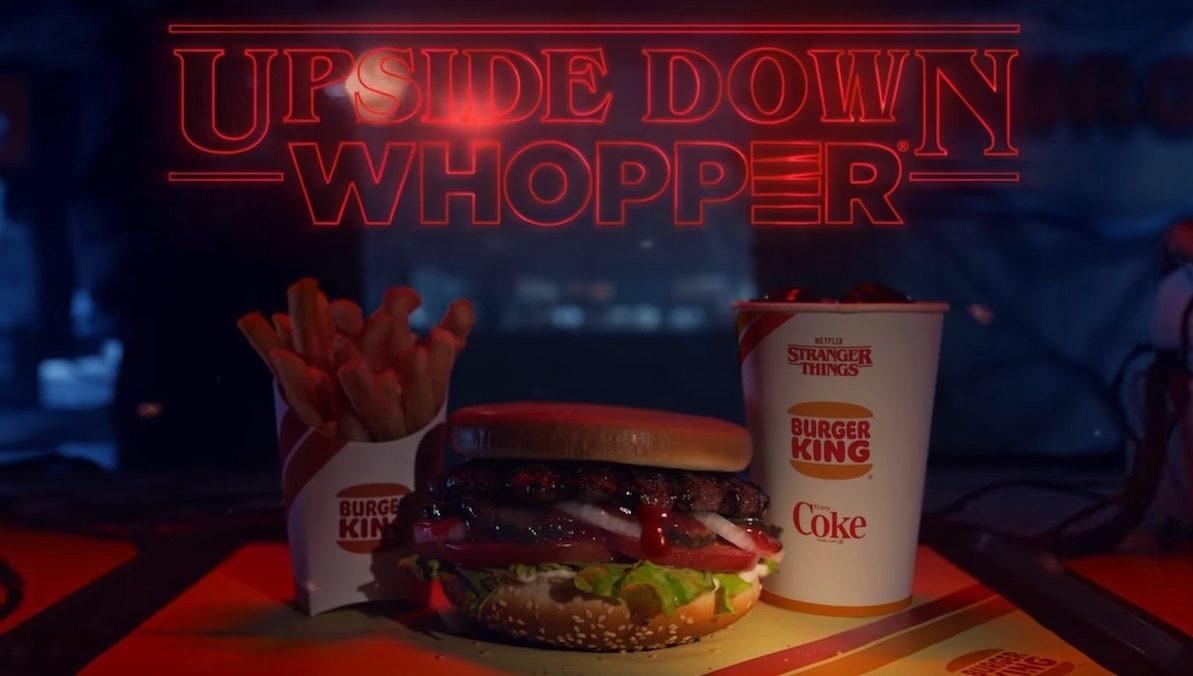 Stranger Things, Burger King lancia il panino Sottosopra thumbnail