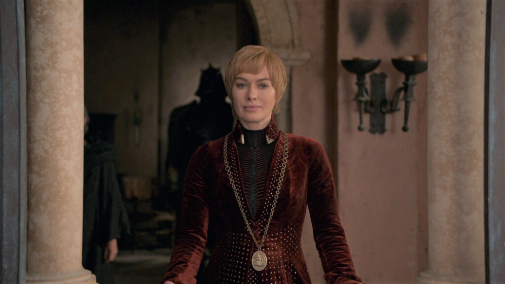 cersei lannister game of thrones lena headey finale morte