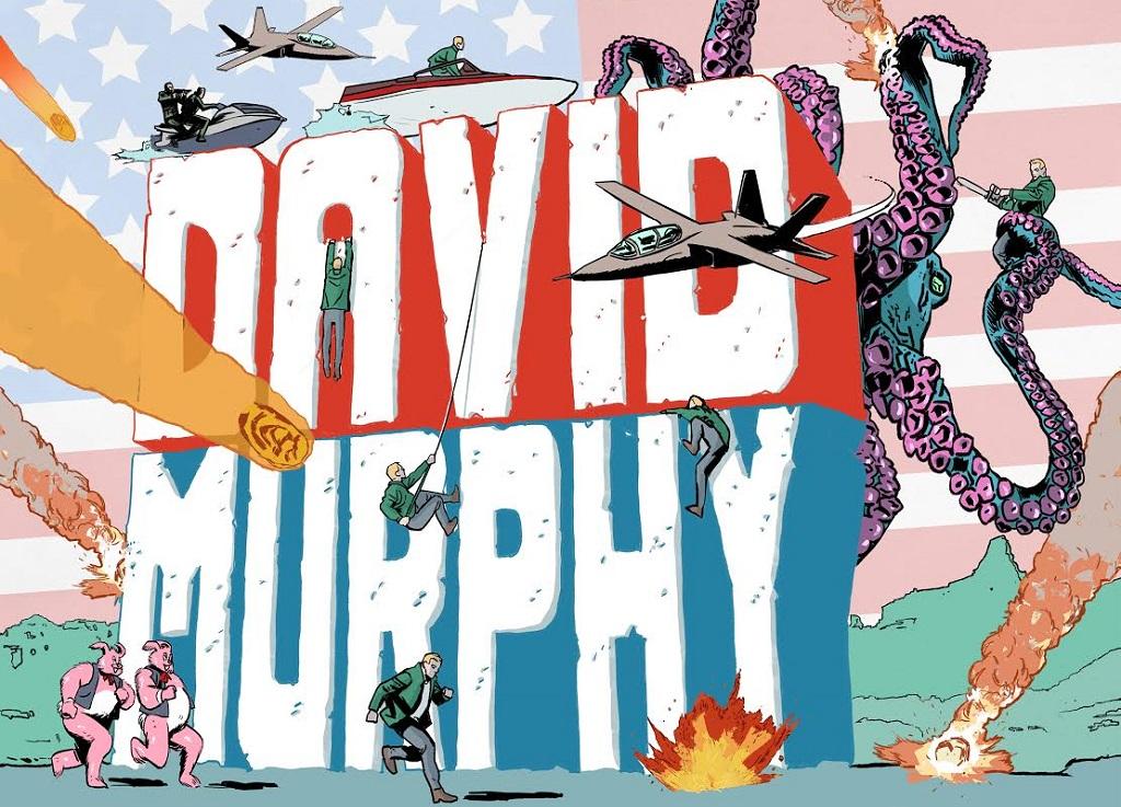 Panini Comics presenta il ritorno di David Murphy thumbnail