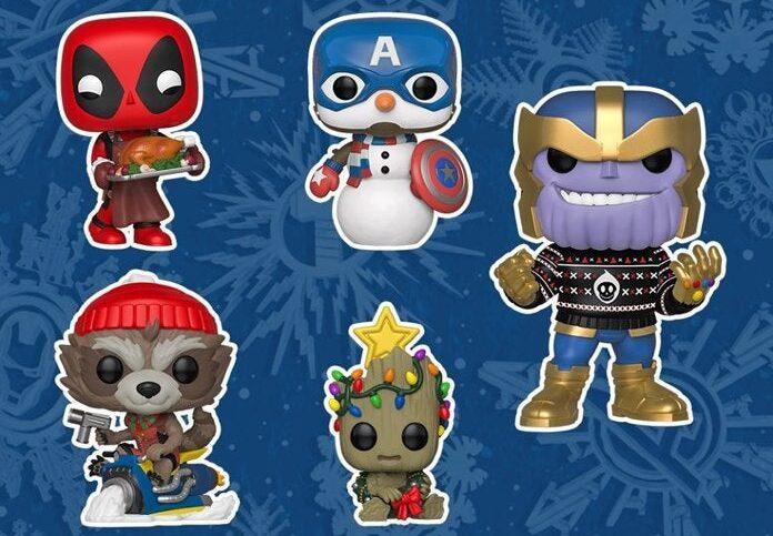 Marvel: In arrivo una nuova linea di Funko Pop di Natale thumbnail