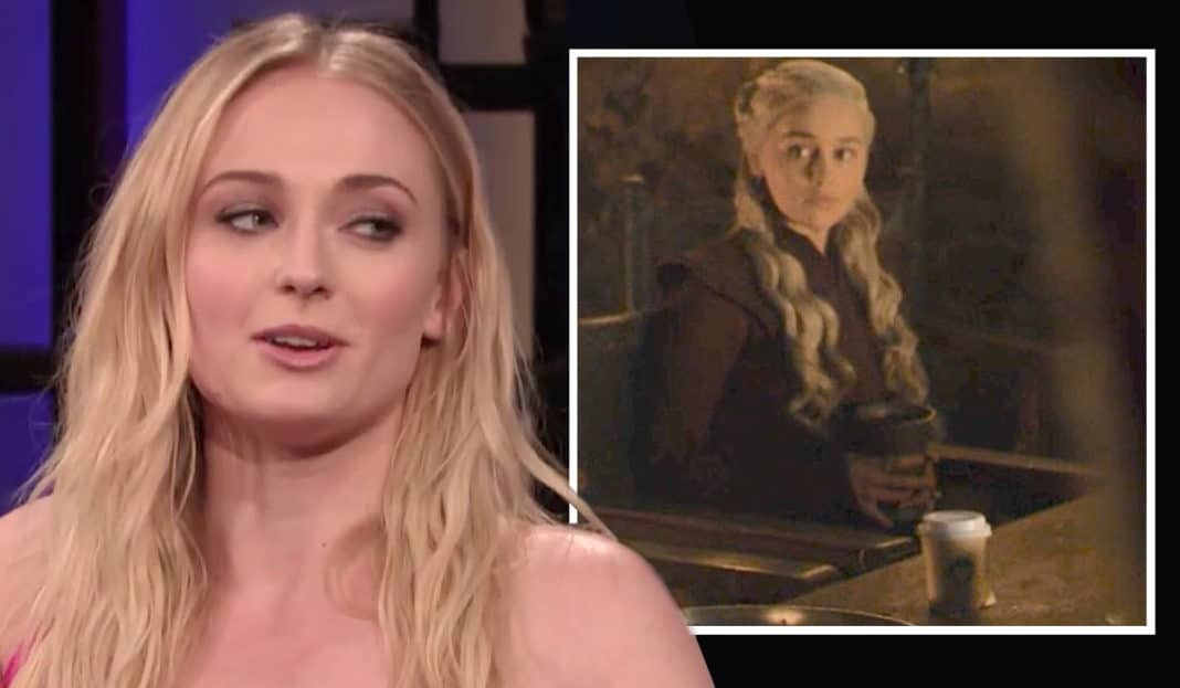 "Sophie Turner: ""La tazza lasciata sul set di Game of Thrones 8? Era di Kit Harington!"" thumbnail"