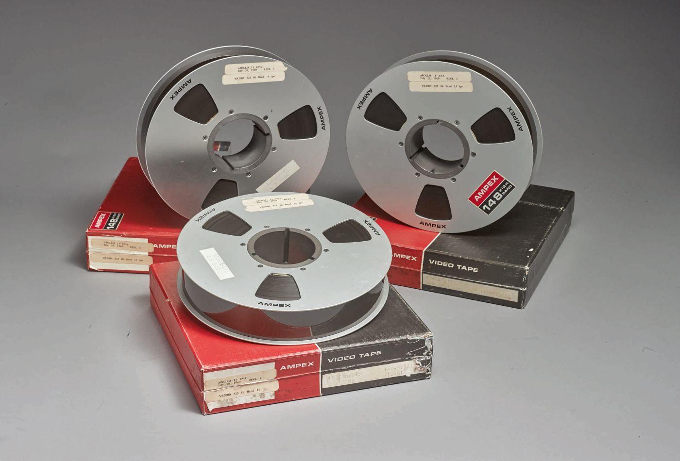Vendute all'asta le pellicole originali dello sbarco sulla Luna thumbnail