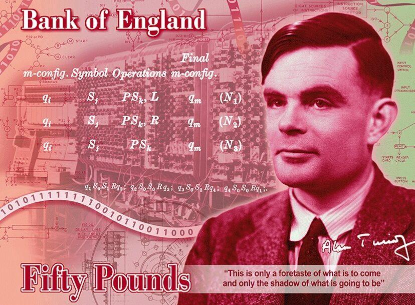 Alan Turing è il nuovo volto delle 50 sterline thumbnail