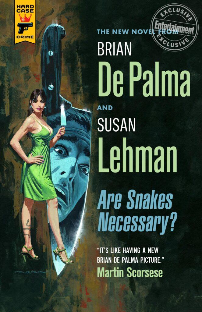 Brian-De-Palma-Are-Snakes-Necessary-Susan Lehman-cover