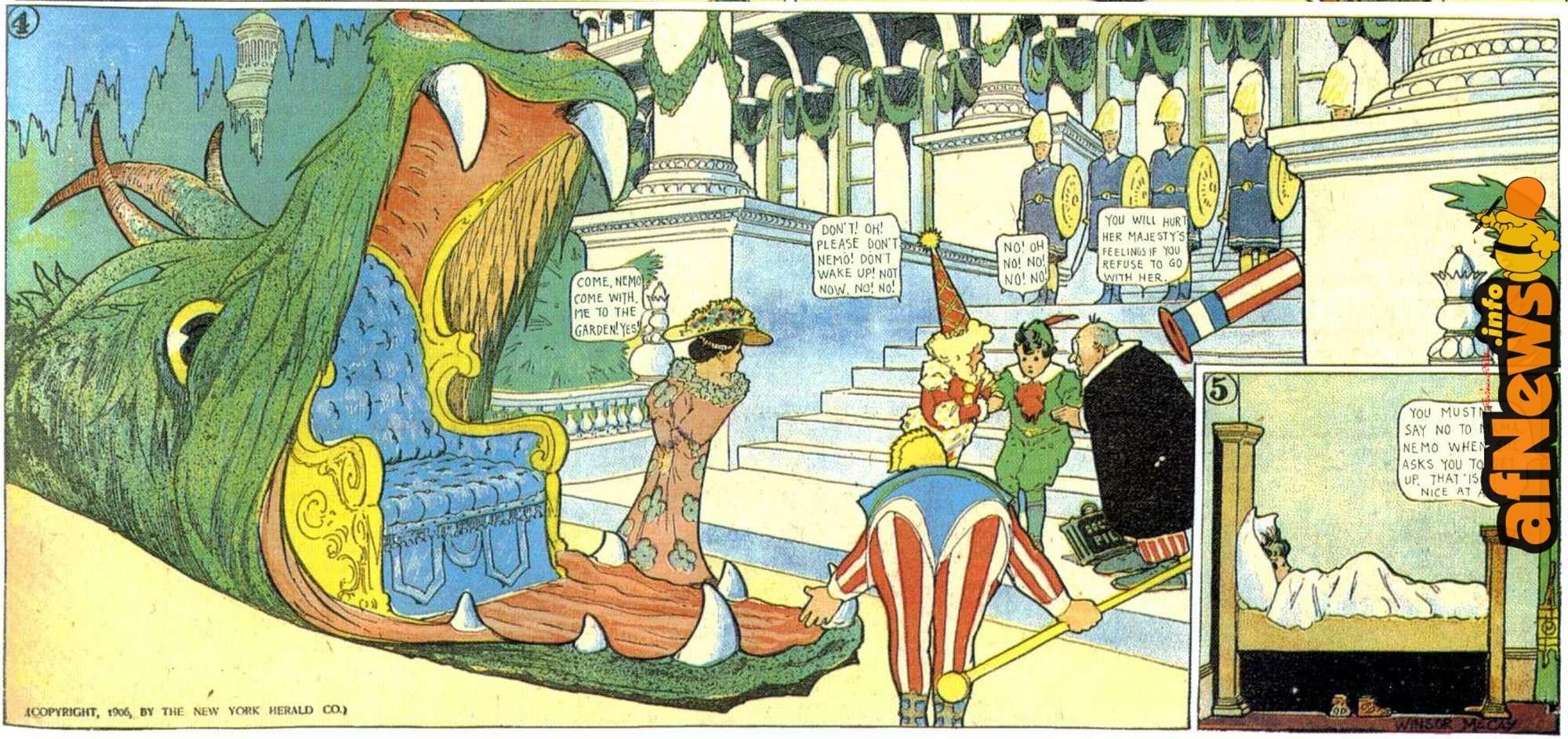 Little Nemo, il secondo volume della sua raccolta a fumetti edito da Taschen thumbnail