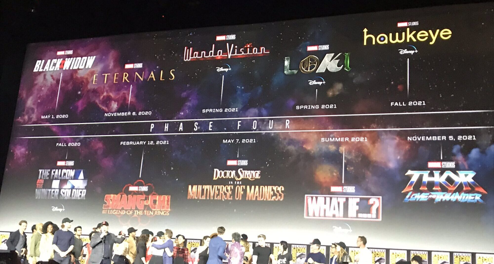 Marvel: annunciata la Fase 4 al San Diego Comic-Con! thumbnail