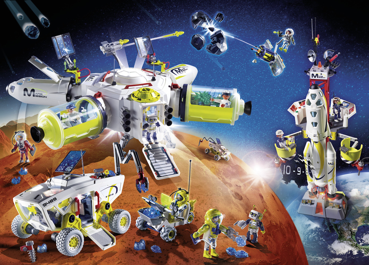 Playmobil a bordo della missione dell'ESA Beyond thumbnail