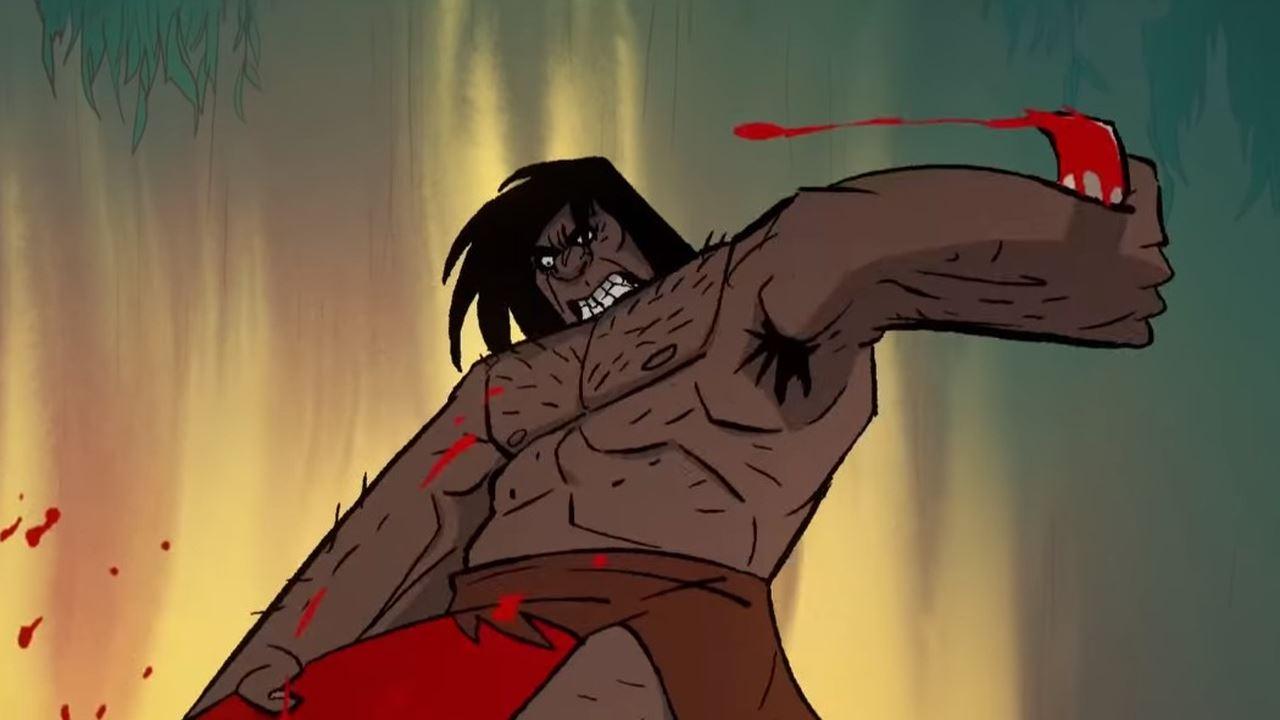 SDCC: una nuova clip di Primal, la nuova serie dell'autore di Samurai Jack thumbnail