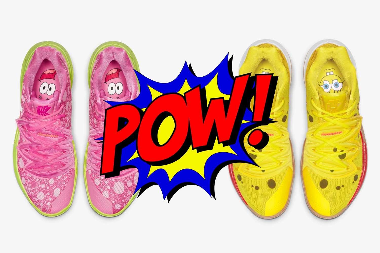 Nike presenta le sneakers ispirate ai personaggi di SpongeBob thumbnail