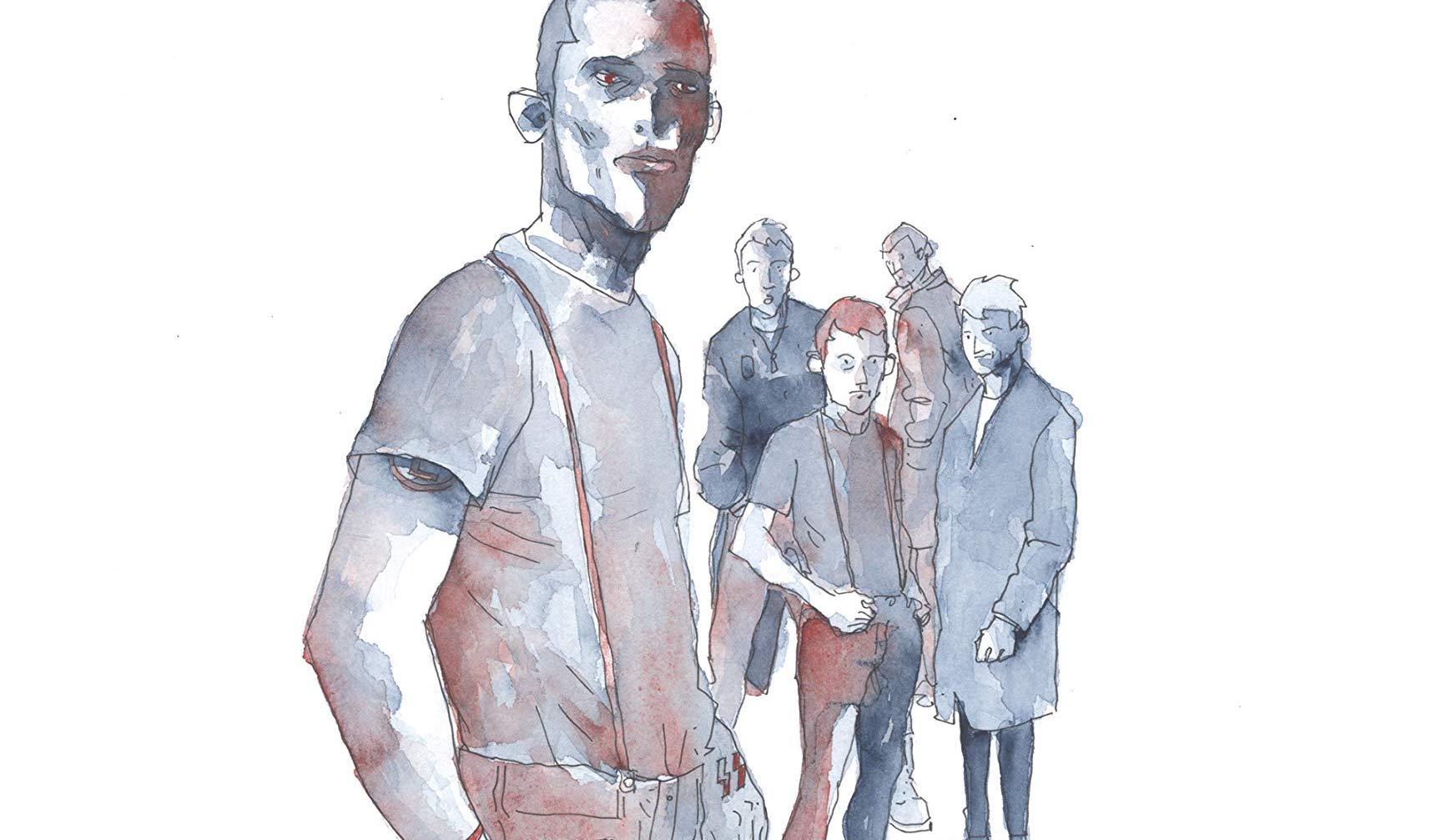 Nuvole nere, il graphic novel di Ruju, Cavaletto e Piccioni thumbnail