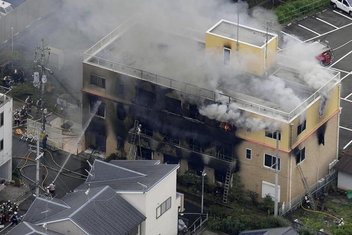 Incendio alla Kyoto Animation: oltre 20 morti e molti dispersi thumbnail