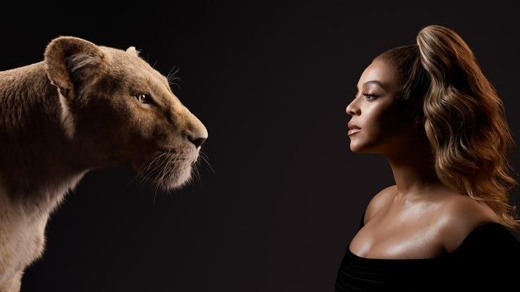il re leone, beyonce