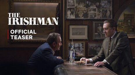 The Irishman, Robert De Niro ringiovanito nel primo trailer del film Netflix thumbnail