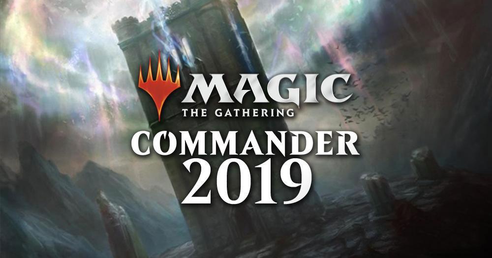 Anteprima Esclusiva Magic The Gathering: Commander 2019 thumbnail