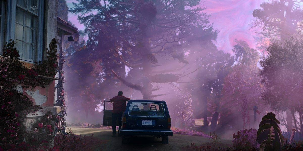 Il colore venuto dallo spazio: prima immagine del film tratto dal racconto di Lovecraft thumbnail