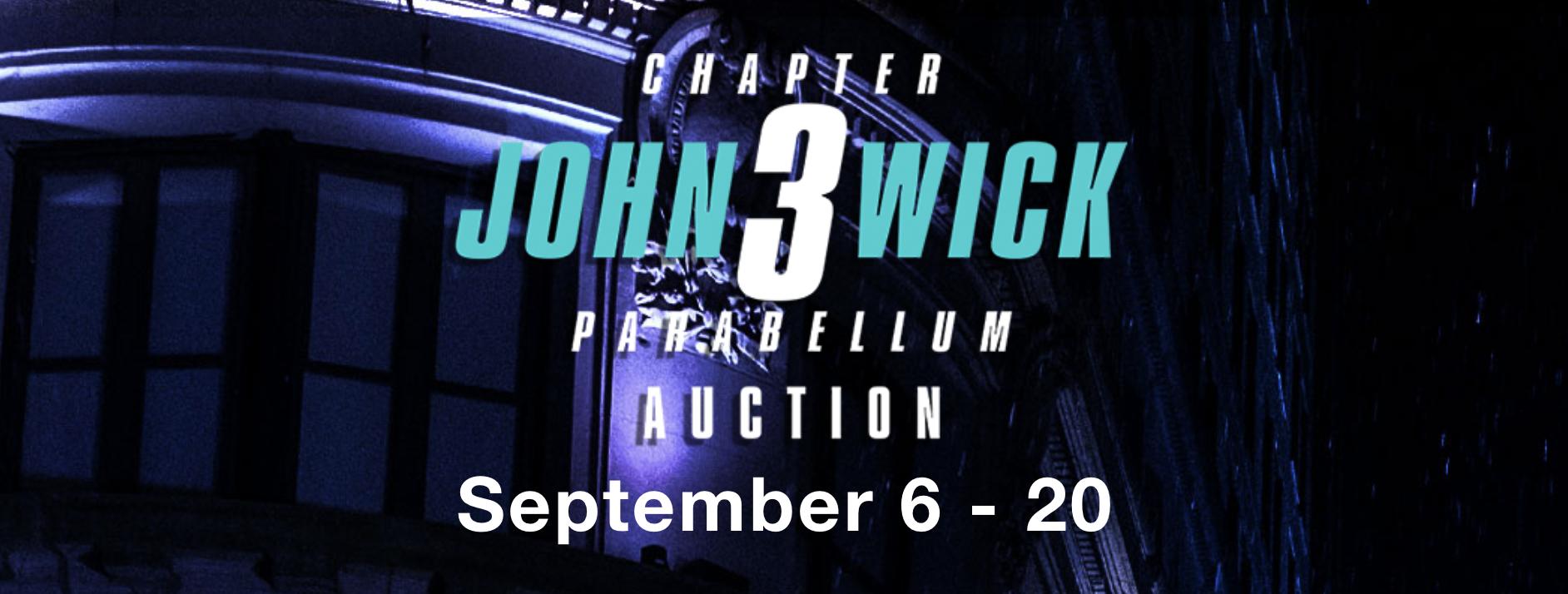John Wick 3: Il materiale utilizzato nel film andrà all'asta thumbnail