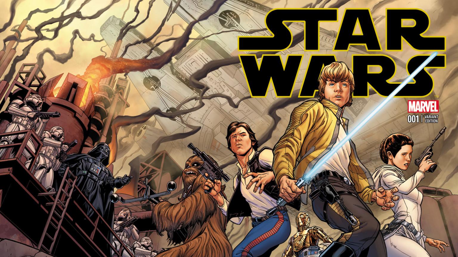 Marvel chiude la serie a fumetti di Star Wars thumbnail