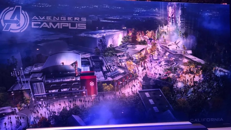 Avengers Campus è il nuovo parco a tema Marvel in arrivo a Disneyland thumbnail