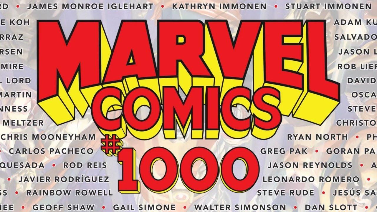 Marvel rimuove un altro pezzo controverso all'interno di Marvel Comics 1000 thumbnail