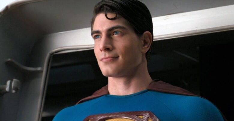 Prima immagine di Brandon Routh come Superman in Crisi sulle Terre Infinite thumbnail