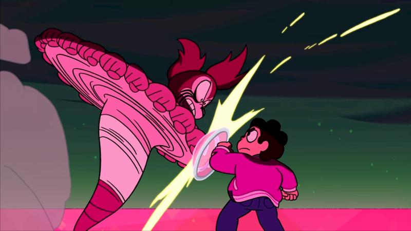 Spinel combattimento Steven Universe The Movie