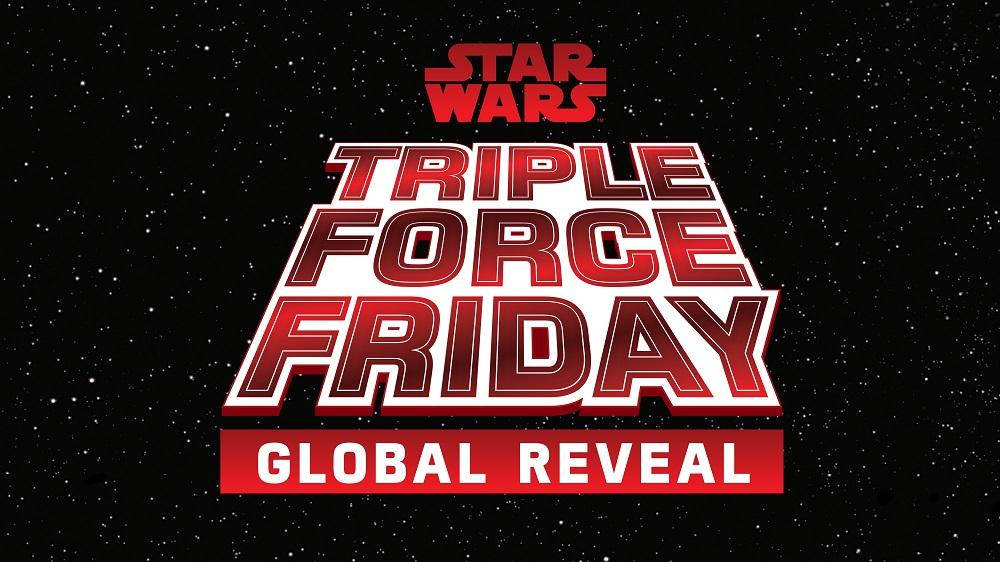 Star Wars Triple Force Friday: inizia il countdown per la diretta streaming thumbnail